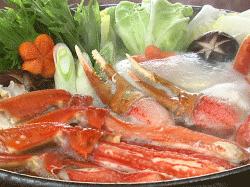 大ズワイガニ鍋