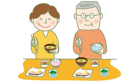 飲み込みやすい姿勢で食事をする為のタイプ別ポイント